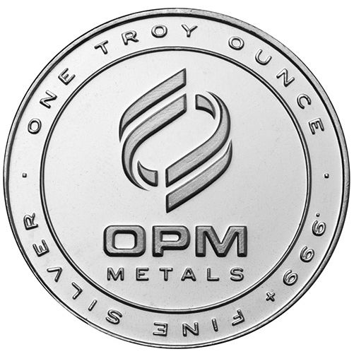 1 oz OPM Silver Round (New)