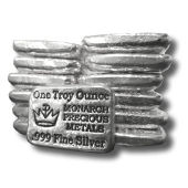 Monarch Silver Bars