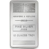 NTR Metals Silver Bars