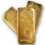 10 oz Johnson Matthey Gold Bar