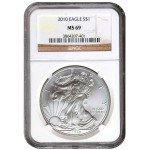 2010 American Silver Eagle NGC MS69