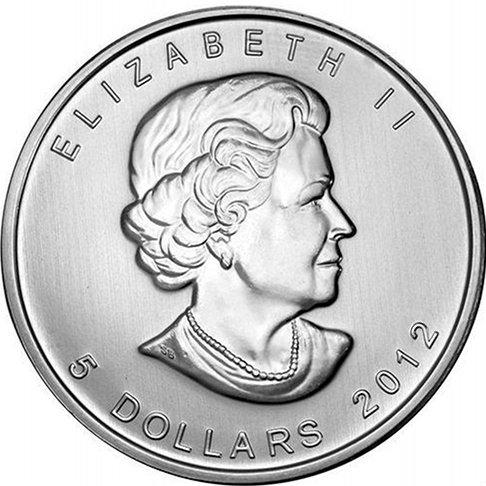 2012 Canadian Silver Maple Leaf (BU)
