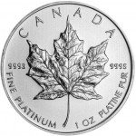 2013 1 oz Canadian Platinum Maple Leaf (BU)