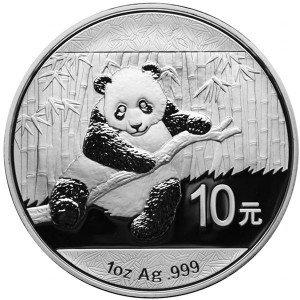 2014 1 oz Chinese Silver Panda (BU)